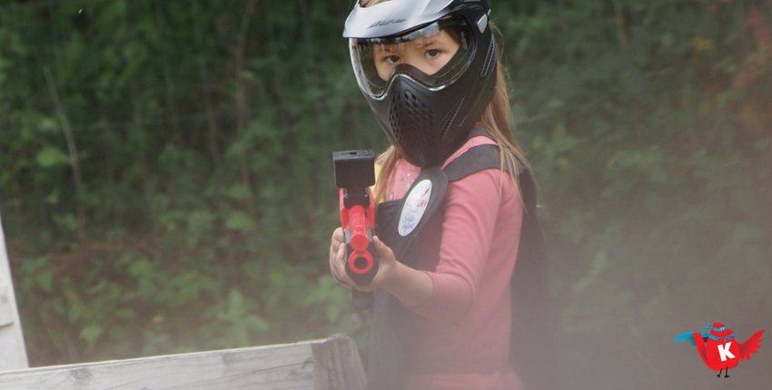 On a testé : Le Paintball pour enfant à Brumath
